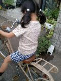 小花柄Tシャツ90〜120cm*